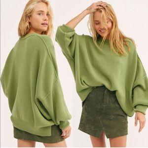 FREE PEOPLE Julep Green Knit Easy Street Tunic